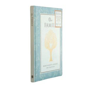 Hardcover Book Other - Our Family - Guided Journal & Keepsake Book